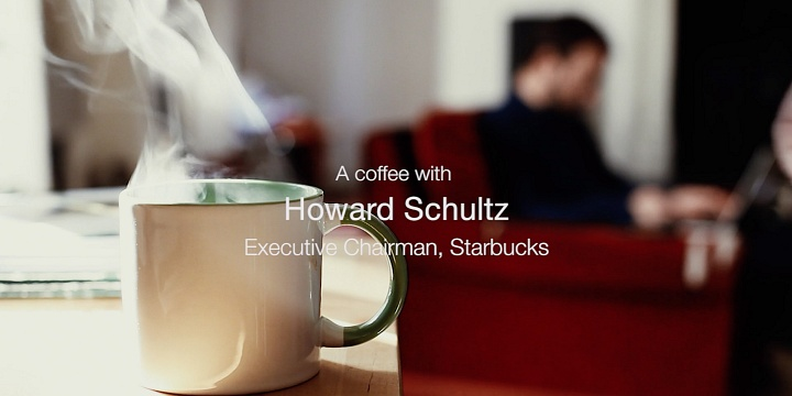 A coffee with Howard Schultz (2017 Bocconi University)