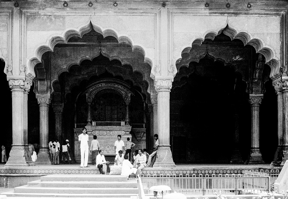 Dheli, red fort