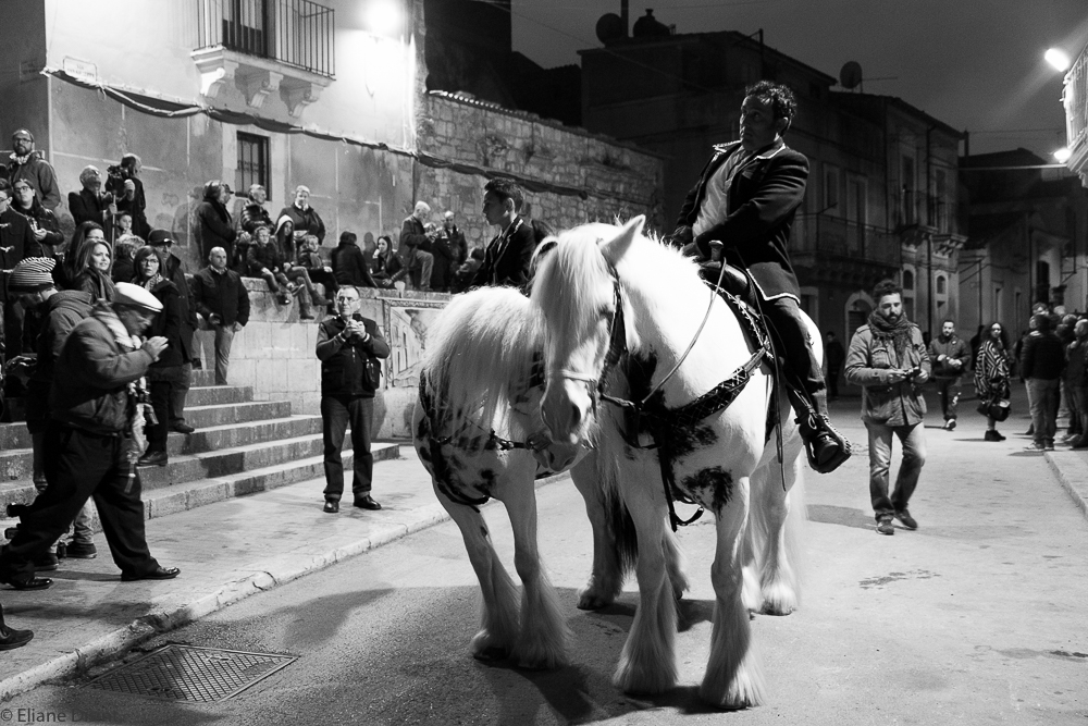 San Giuseppe festival, Scicli - In Scicli, Sicily, the traditional Saint Giuseppe festival one of the most important events of the year. It is held on March 19th, which is also father's day in Italy.
